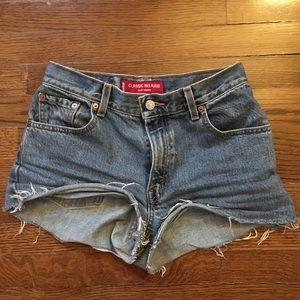 Levi's 550 Denim Shorts!!